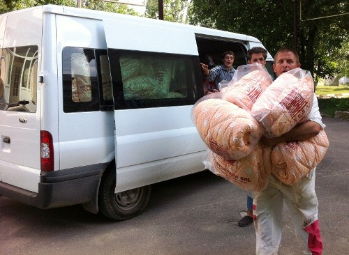 Dutch humanitarian assistance for boarding house from Balti